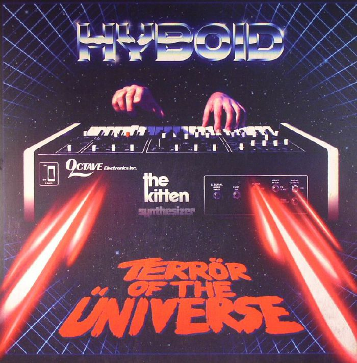 Cover art for Terror of the Universe by Hyboid